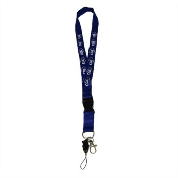 Lanyard color azul Cgb